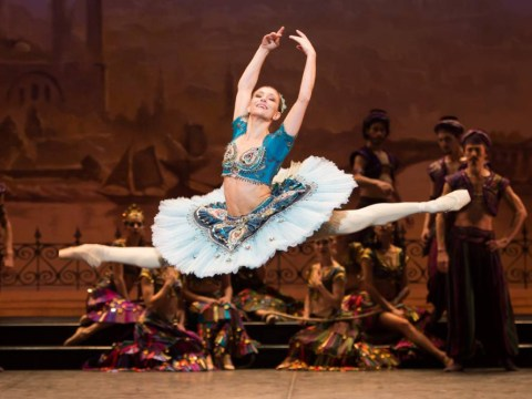 Romanian prima ballerina Alina Cojocaru is in demand around the world and having the time of her life
