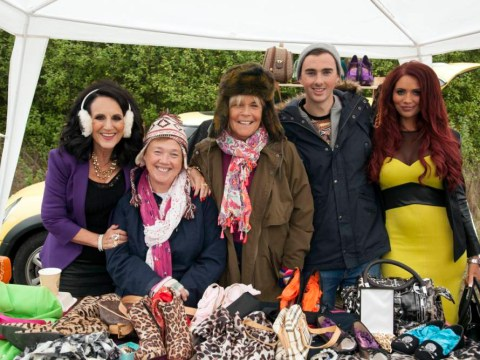 Amy Childs meets the original Essex girls as she makes cameo in Birds Of A Feather