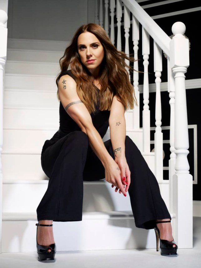 Mel C is finding a new sense of self-confidence as she turns 40 (Picture: Tim Bret-Day)