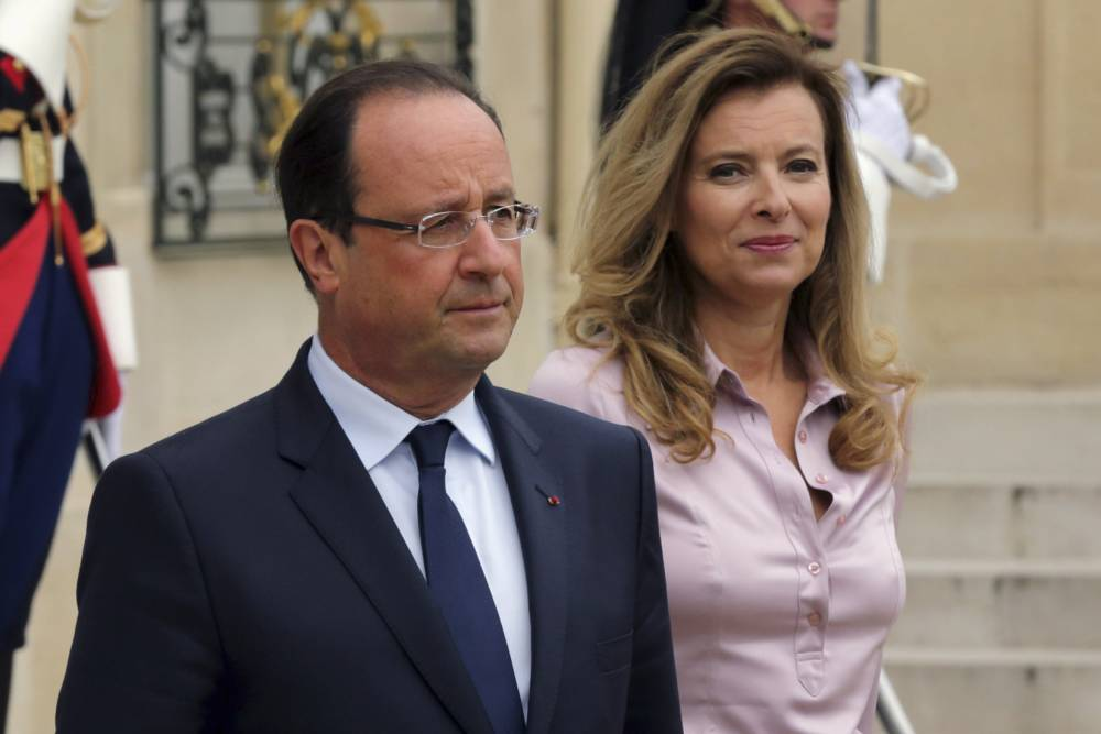 François Hollande confirms end of 'shared life' with Valérie Trierweiler