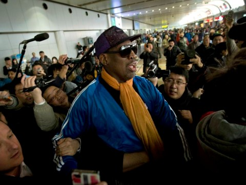 Dennis Rodman leaves North Korea and checks himself into alcohol treatment programme