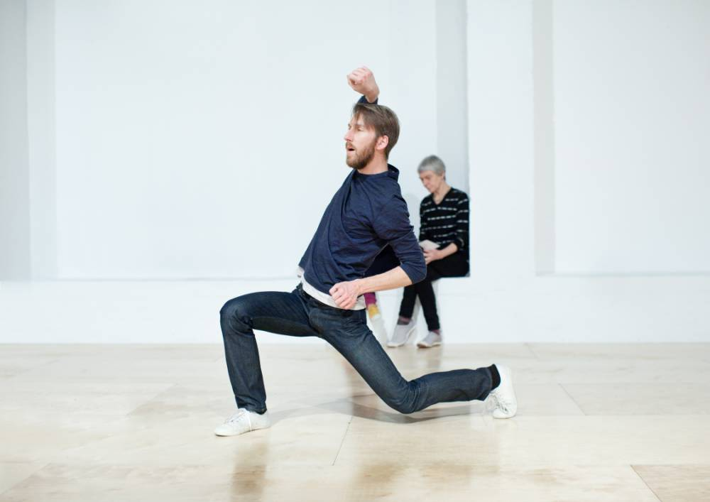 Embodied: Matthias Sperling in Siobhan Davies's Table Of Contents (Picture: Pari Naderi)