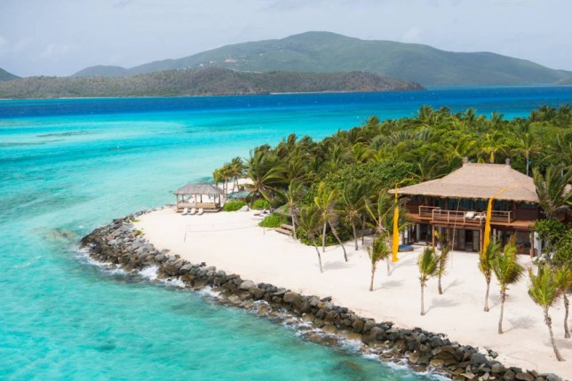 The beautiful beaches of Necker Island come at a premium (Picture: Jack Brockway)