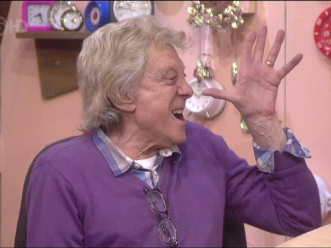 Lionel Blair loses it with 'selfish bitches' Luisa Zissman and Jasmine Waltz