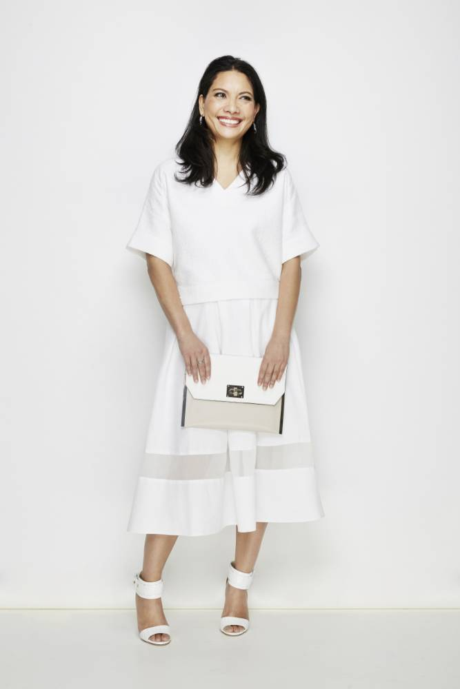 How to wear white with help from Erdum, Louise Amstrup and Mulberry