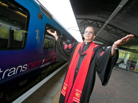 Nine to five: The railway reverend giving commuters a shoulder to cry on