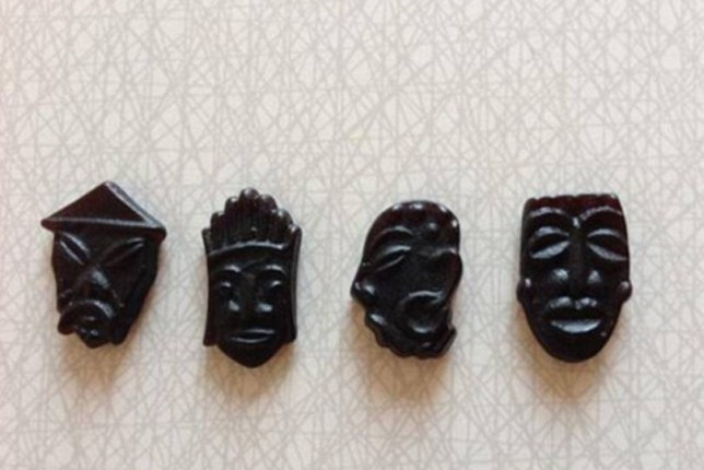 sweets.jpg Haribo has pulled a line of liquorice sweets shaped like faces after a social media outcry from customers who consider them racist. The sweet manufacturer has stopped selling some parts of its bagged Skipper Mix in Denmark and Sweden.  The product features black gummy sweets shaped like distorted faces or traditional African masks.