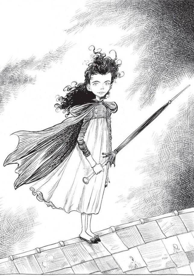 Ada Goth (Illustration: Chris Riddell)