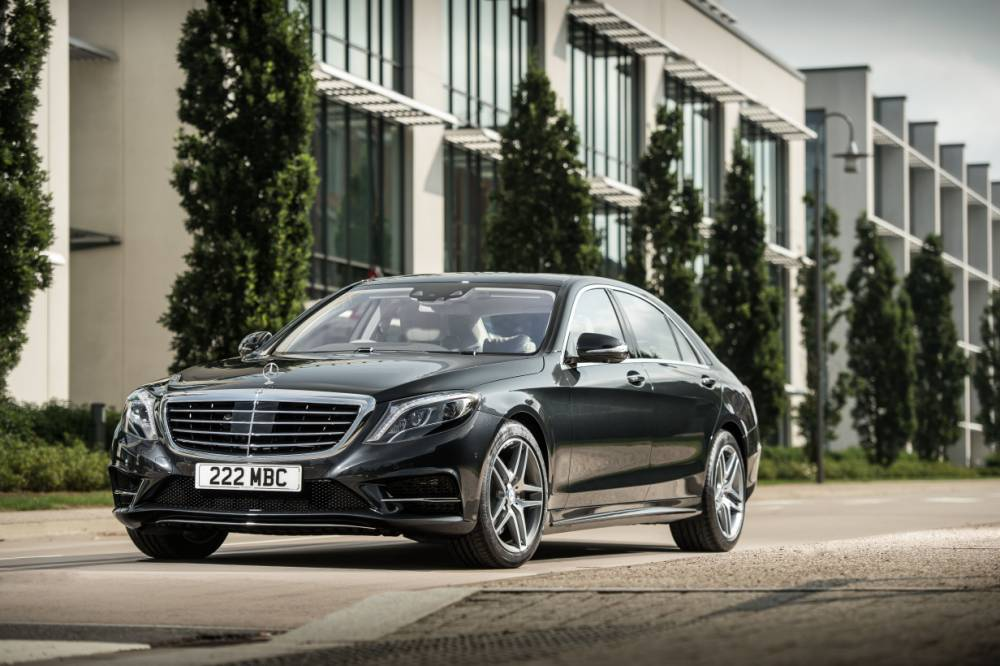 The new Mercedes S-Class features a host of innovations (Picture: supplied)