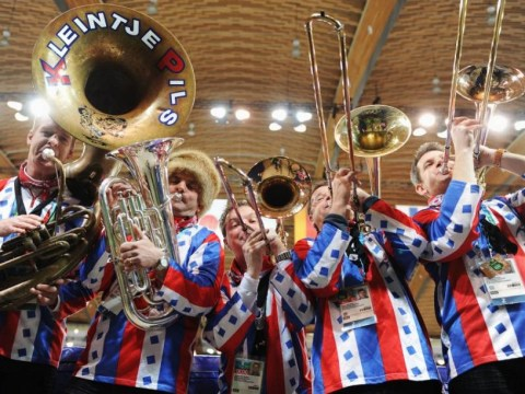 Brass band could wind up Vladimir Putin by playing gay anthem 'Y.M.C.A.' in Sochi
