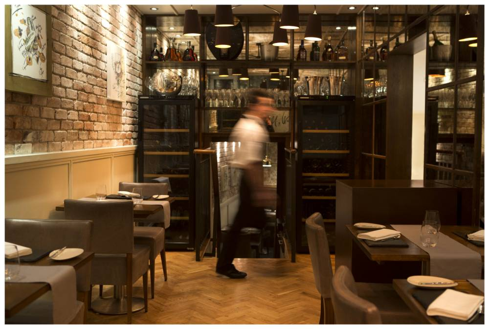 London's Canvas restaurant is not such a pretty picture