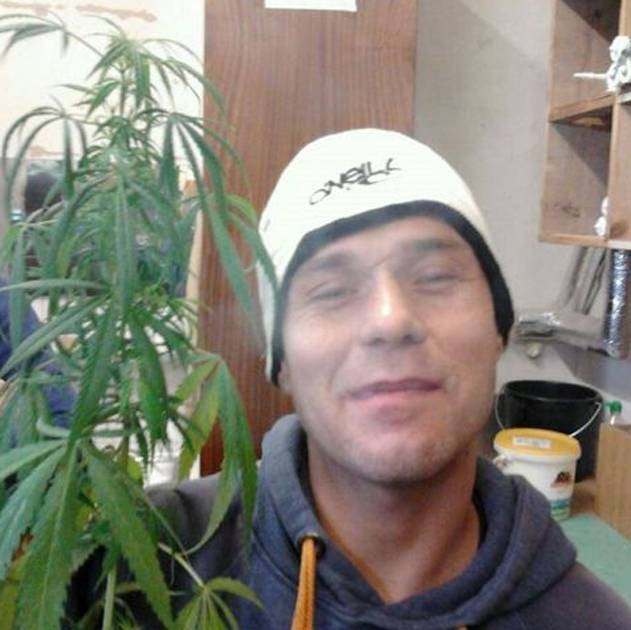 Green fingers: Prisoner posts selfie with home-grown cannabis plant