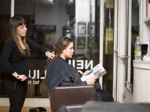 While you were asleep, we tried out the 24-hour hairdressing salon