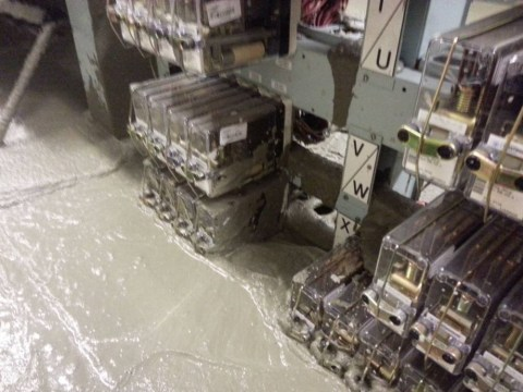 Set in stone? Cement flood in TfL control room closes the Victoria line