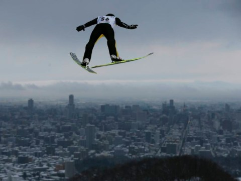 Gallery: Amazing pictures from the Ski Jumping World Cup in Japan