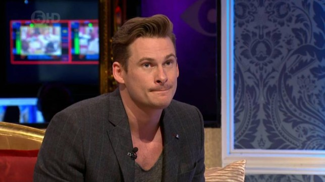 """****Ruckas Videograbs****  (01322) 861777 *IMPORTANT* Please credit Channel 5 for this picture. 28/01/14 Celebrity Big Brother's Bit On The Side - last night (27th January 2014), Channel 5 SEEN HERE: Lee Ryan is interviewed by Emma Willis on last night's CBB's Bit On The Side where he revealed that he has been receiving death threats since he was evicted from the CBB house on Sunday night. Ryan aplogised for any offence he has caused by his behaviour in the house but then said """"I've been getting death threats on Twitter. It's no joke - my management are scared for my safety. People are saying they are going to stab me when they see me walking down the street. Someone said they're going to put an axe in my head"""". Office  (UK)  : 01322 861777 Mobile (UK)  : 07742 164 106 **IMPORTANT - PLEASE READ** The video grabs supplied by Ruckas Pictures always remain the copyright of the programme makers, we provide a service to purely capture and supply the images to the client, securing the copyright of the images will always remain the responsibility of the publisher at all times. Standard terms, conditions & minimum fees apply to our videograbs unless varied by agreement prior to publication."""