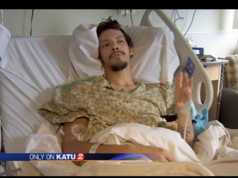 Man who was dragged through a wood chipper at work: 'It's been a rough couple of days'
