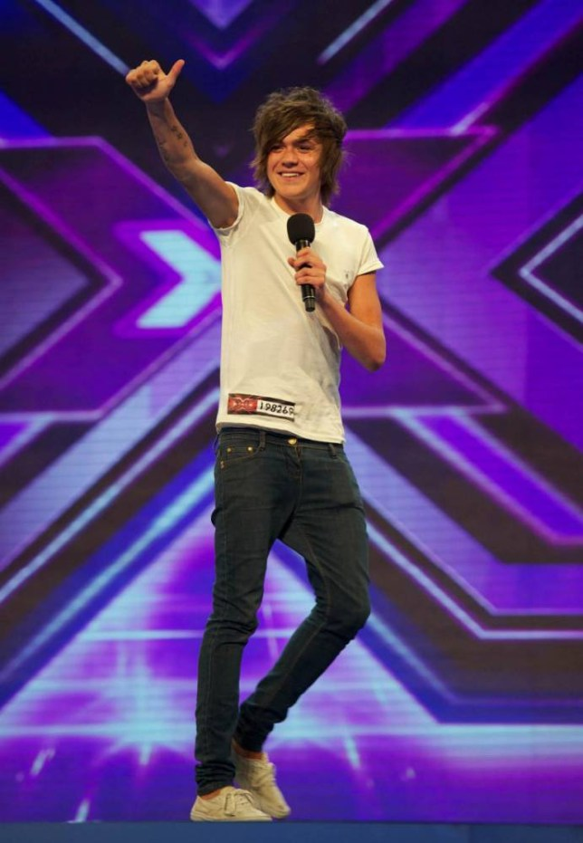 Frankie Cocozza on The X Factor 2011