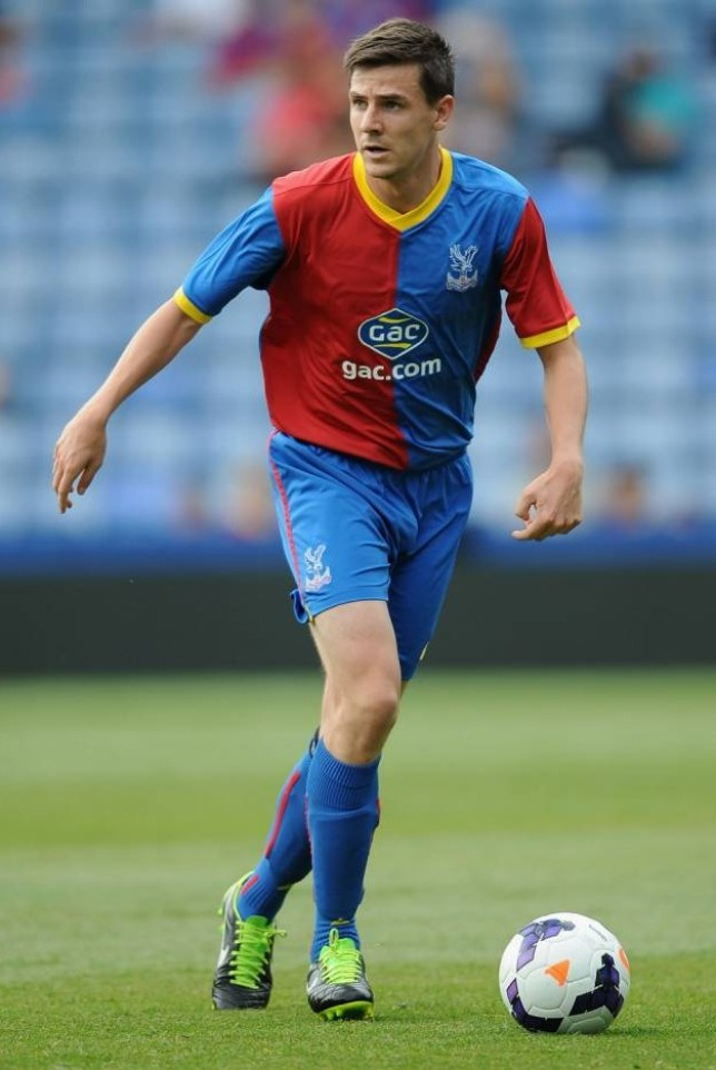 Owen Garvan of Crystal Palace during a Pre Season Friendly between Crystal Palace and Lazio at Selhurst Park in London, England on August 10, 2013.    LONDON, ENGLAND - AUGUST 10:   (Photo by Christopher Lee/Getty Images)