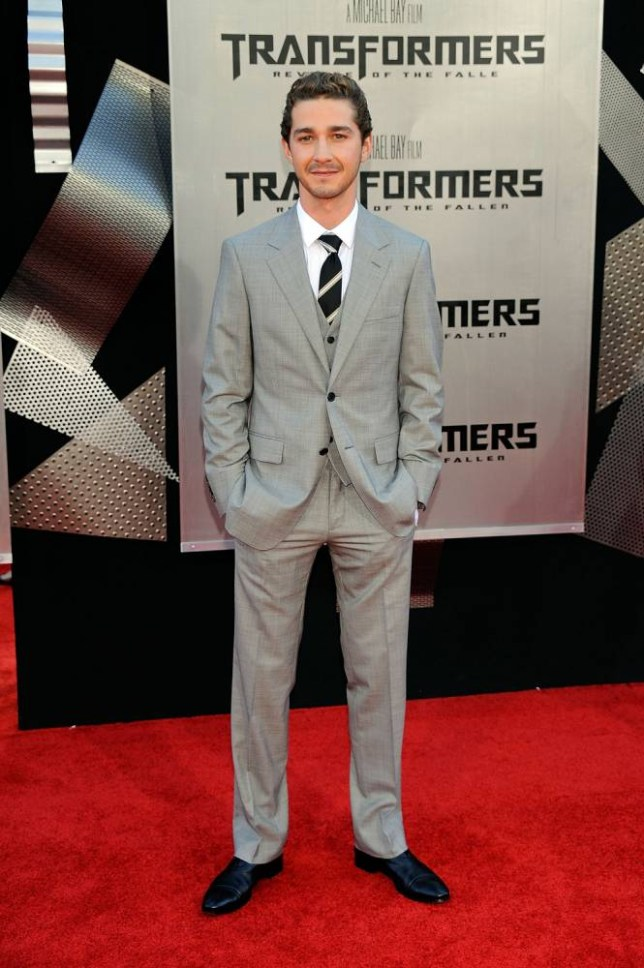 "Actor Shia LaBeouf arrives at the premiere of Dreamworks' ""Transformers: Revenge Of The Fallen"" held at Mann Village Theatre on June 22, 2009 in Westwood, Los Angeles, California. LOS ANGELES, CA - JUNE 22. (Photo by Frazer Harrison/Getty Images)"