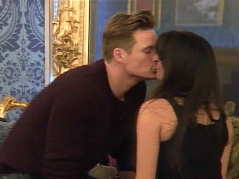 Celebrity Big Brother housemates Lee Ryan and Casey Batchelor break up and make up within a matter of minutes