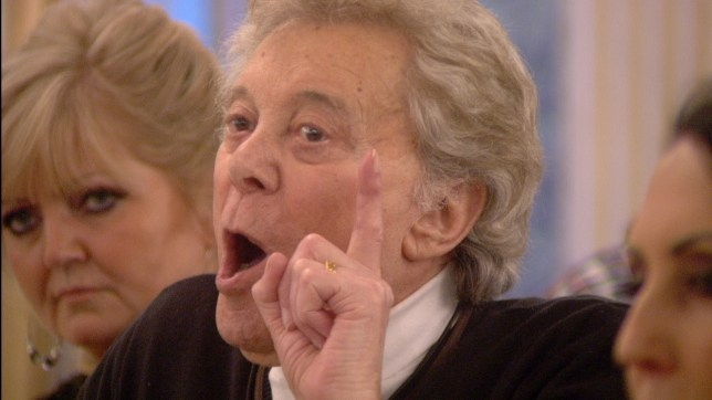 Lionel Blair and Luiza Zissman - Celebrity Big Brother 2014