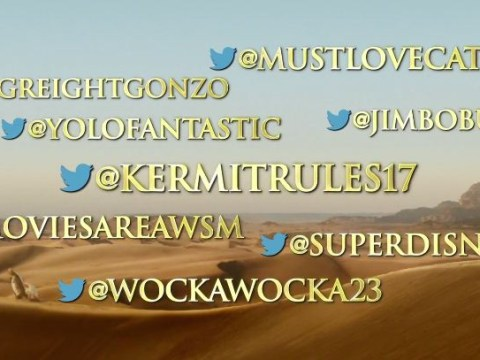 Muppets Most Wanted trailer mocks the whole using tweets as reviews thing
