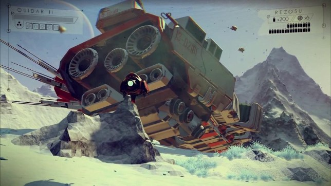 No Man's Sky - not that it's necessarily out this year