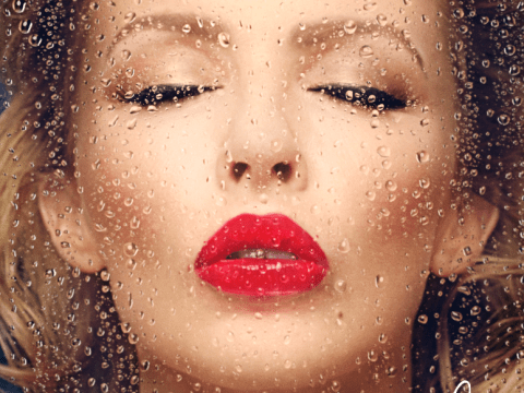 Kylie Minogue unveils new album cover for Kiss Me Once