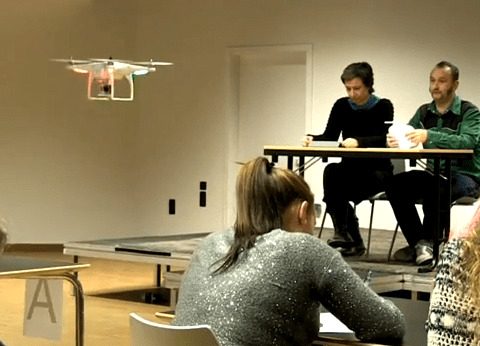 School invests in drone technology to patrol exam halls and stop cheats