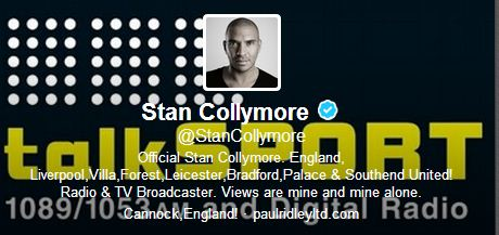 Stan Collymore suffers racist abuse on Twitter after claiming Liverpool striker Luis Suarez dived against Aston Villa