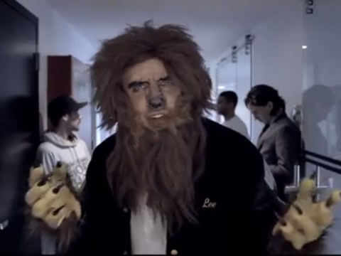 Teen Wolf of Wall Street spoof is pretty silly