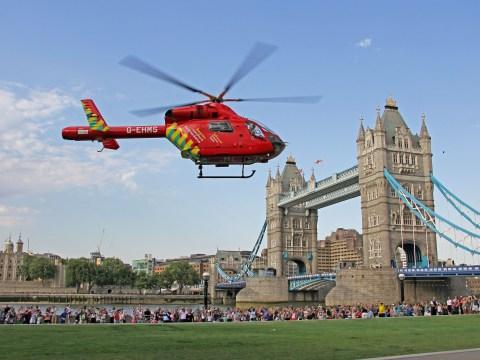 London's Air Ambulance reaches 25th anniversary of saving lives