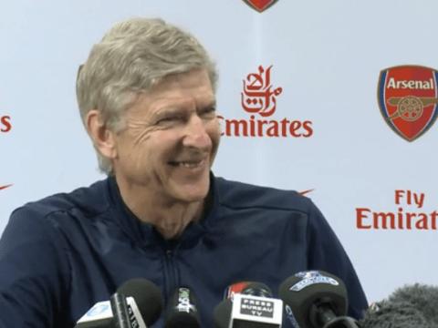 Cheeky! Arsene Wenger jokes at Arsenal loan deal for Real Madrid star Gareth Bale