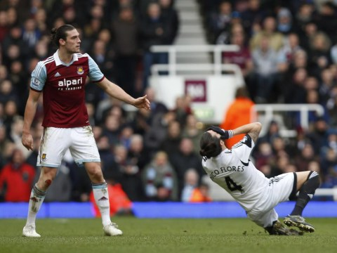 Chico Flores dives as much as Ashley Young and is embarrassing Swansea City