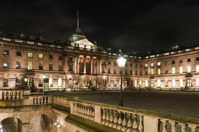 Somerset House is the place to spot all types of London Fashion Weekers (Picture: Maui01/Maui01)