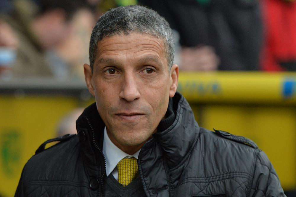 Chris Hughton: No rift with Norwich City's chief executive David McNally and everyone at the club are 'pulling in right direction'