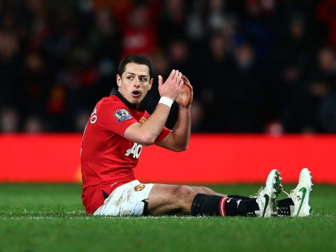 Javier Hernandez 'hits back' at unhappy Manchester United team-mate Robin Van Persie