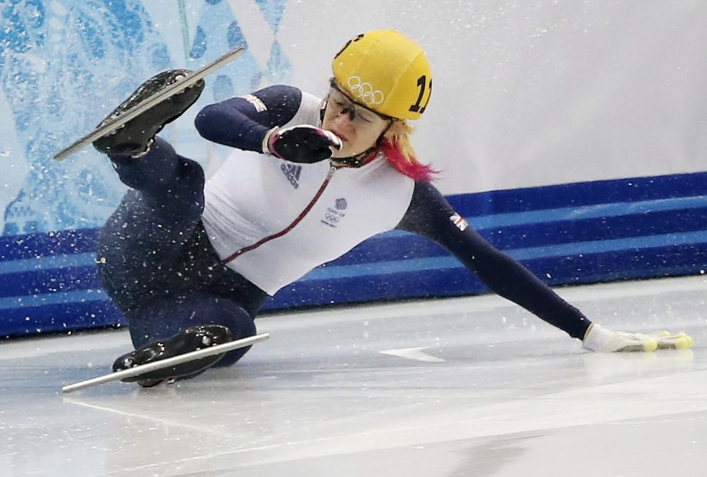 Elise Christie 'confused and heartbroken' after controversially missing out on spot in speed skating 1,000m final