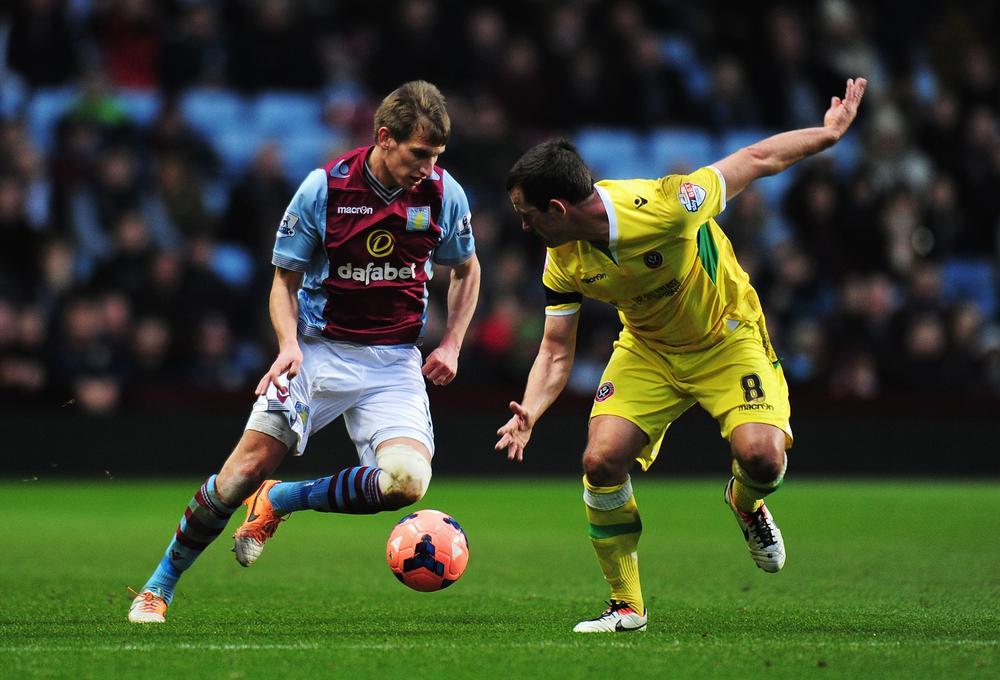 Marc Albrighton set for Aston Villa contract talks after impressing boss Paul Lambert