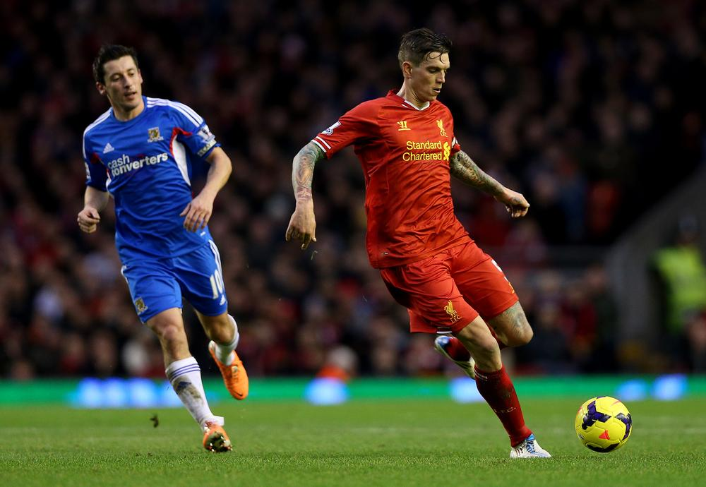 Is the writing on the wall for Daniel Agger at Liverpool?