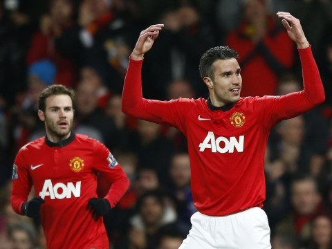 Juan Mata, Wayne Rooney and Robin van Persie in Manchester United team to face Stoke