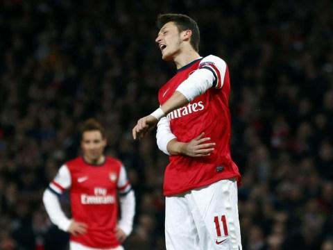 Lukas Podolski pleads with Arsenal fans not to make Mesut Ozil a scapegoat
