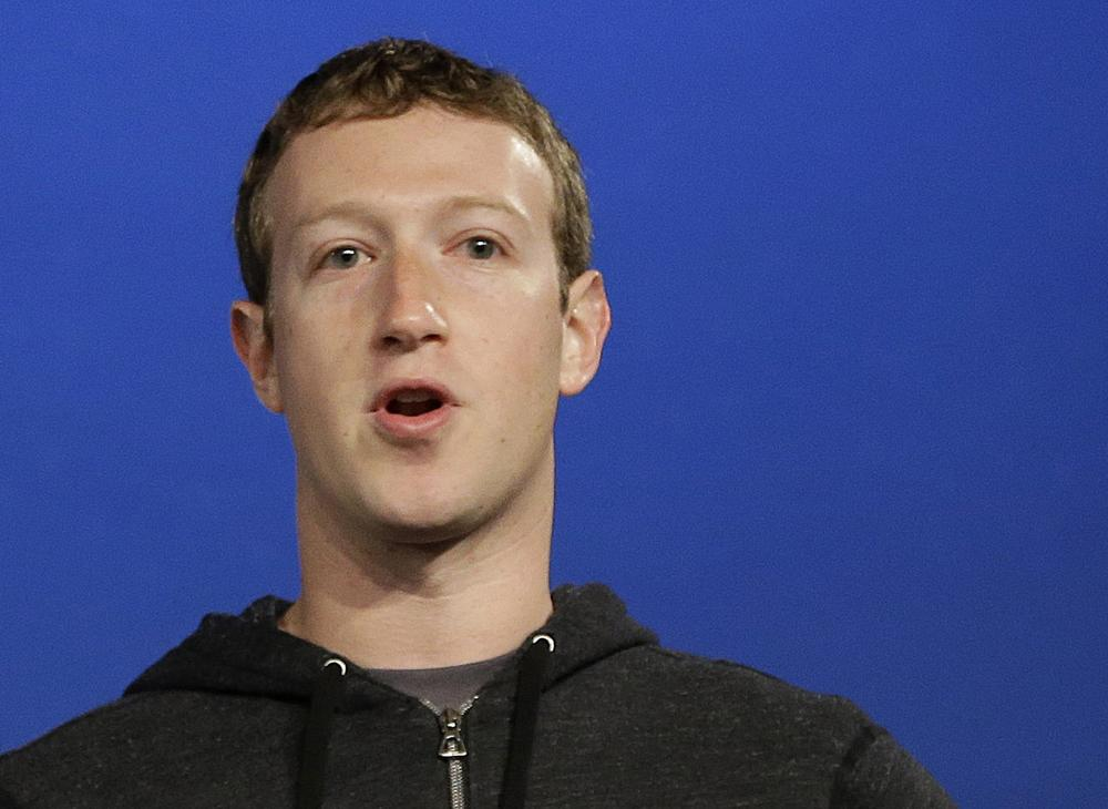 Chief exec: Facebook founder Mark Zuckerberg (Picture: AP)