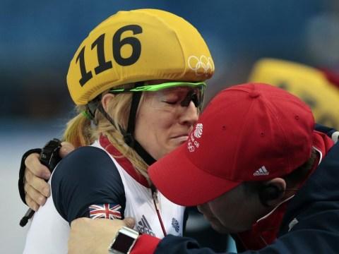 Sochi 2014 Winter Olympics: Elise Christie dramatically denied speed skating silver