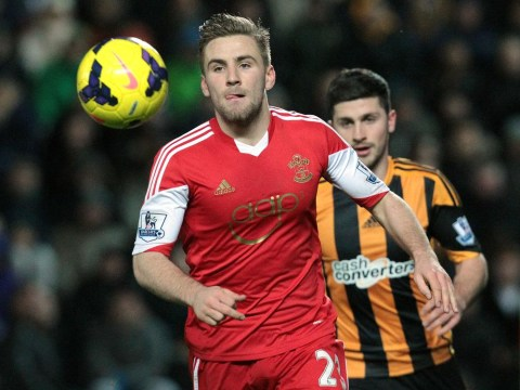 Luke Shaw England squad call from Roy Hodgson caught on video by Southampton
