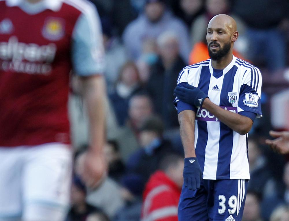 Nicolas Anelka slapped with five-match ban for 'quenelle' gesture