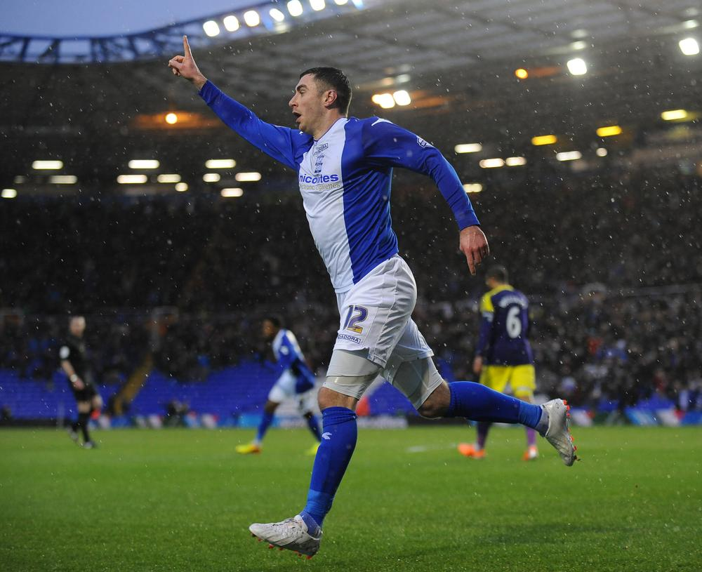 Birmingham City's Lee Novak is proving the doubters wrong