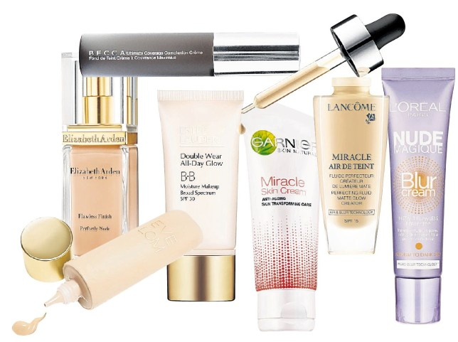 New bases and foundations from Eve Lom, Elizabeth Arden and BECCA are worth a try (Pictures: supplied)