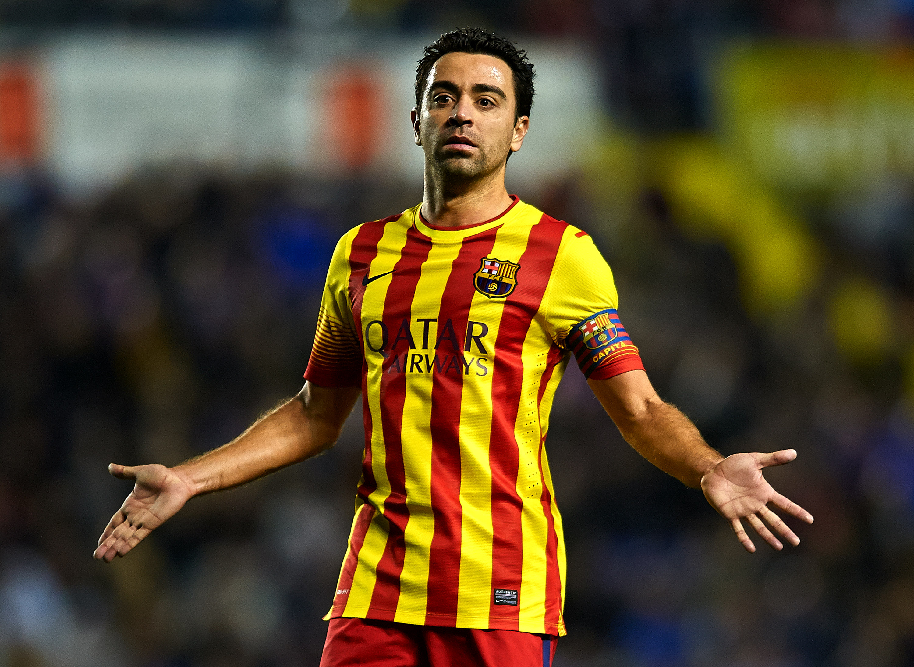 Barcelona star Xavi responds to Manchester United transfer speculation